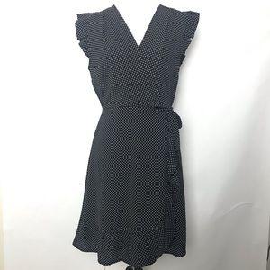 Monteau Faux wrap around dress
